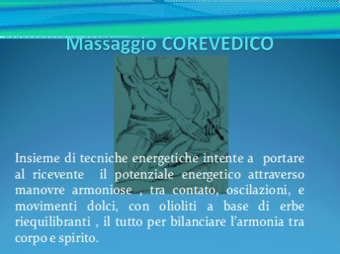 massag corevedico